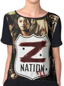 Z nation - cast Chiffon Top