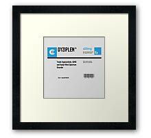 DYZIPLEN Framed Print