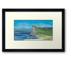 From Source to Sea Framed Print