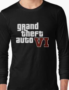 grand theft auto Vl Long Sleeve T-Shirt
