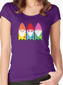 Garden Gnomes Women's Fitted Scoop T-Shirt