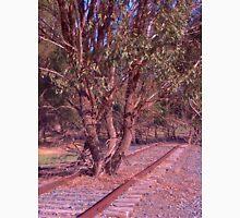 Tree on the track Unisex T-Shirt