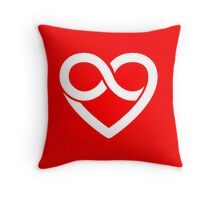 POLYAMORY. Throw Pillow
