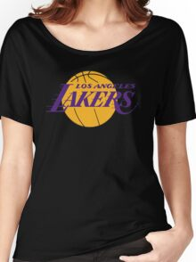 Los Angeles Lakers Women's Relaxed Fit T-Shirt