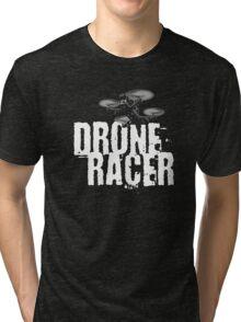 Drone Racer (Black) Tri-blend T-Shirt