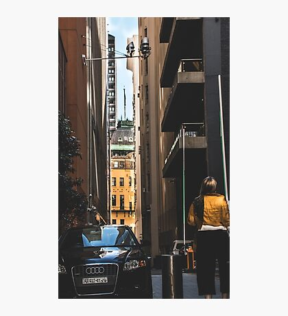 urban scene Photographic Print