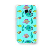 marine fish for a blue background Samsung Galaxy Case/Skin