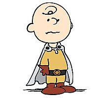 One Punch Charlie Brown Photographic Print
