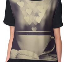 ~ still life with bokeh ~ Women's Chiffon Top
