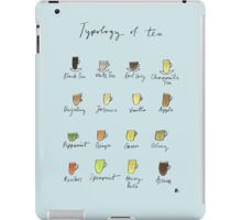 Tea Typology - Commissioned by Allie iPad Case/Skin