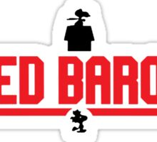 The Red Baron Sticker