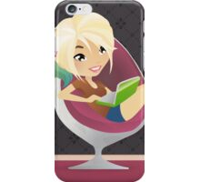 Newage vector blogger anime girl 1 iPhone Case/Skin