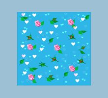 pattern with roses Unisex T-Shirt