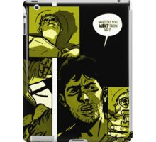 Outcast - modified in yellow dots iPad Case/Skin