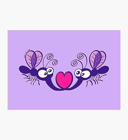 Mosquitoes in Love Photographic Print