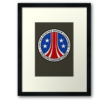 United States Colonial Marine Corps Insignia - Aliens - Dirty Framed Print