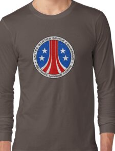 United States Colonial Marine Corps Insignia - Aliens - Dirty Long Sleeve T-Shirt