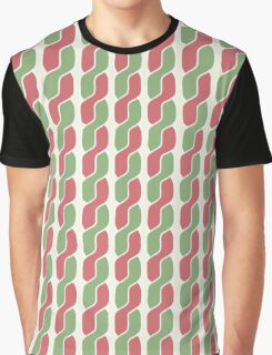 plait simple retro pattern Graphic T-Shirt