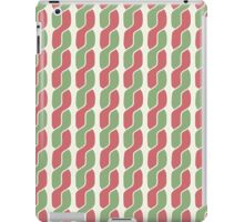 plait simple retro pattern iPad Case/Skin