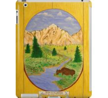 Bison in the Meadow iPad Case/Skin