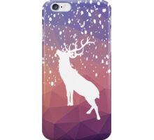 Oh Deer Purple Mountains iPhone Case/Skin
