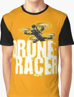 Drone Racer (Orange) Graphic T-Shirt