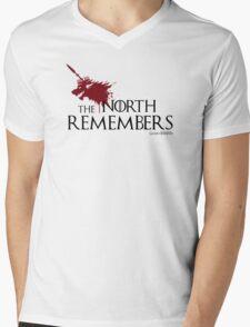 Blood Wolf Mens V-Neck T-Shirt