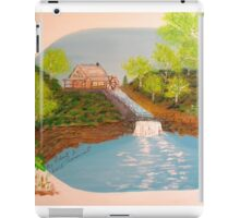 The Old Mill and Falls iPad Case/Skin