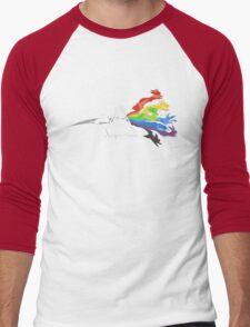 Pokemon Triangle Men's Baseball ¾ T-Shirt