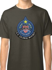 United States Colonial Marine Corps - Aliens Classic T-Shirt