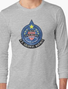 United States Colonial Marine Corps - Aliens Long Sleeve T-Shirt