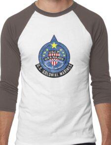 United States Colonial Marine Corps - Aliens Men's Baseball ¾ T-Shirt