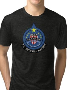 United States Colonial Marine Corps - Aliens Tri-blend T-Shirt