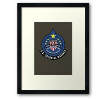 United States Colonial Marine Corps - Aliens Framed Print