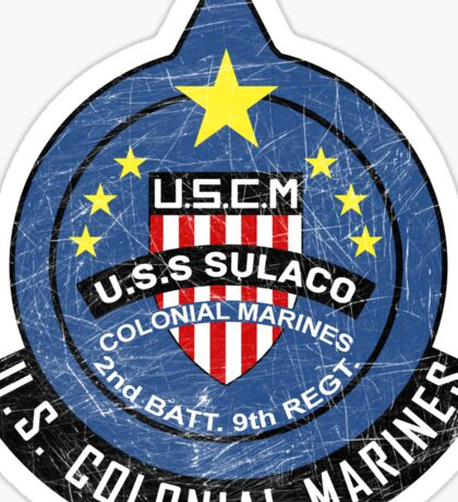 United States Colonial Marine Corps - Aliens Sticker