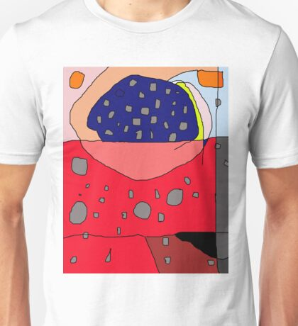 Abstract design by Moma Unisex T-Shirt