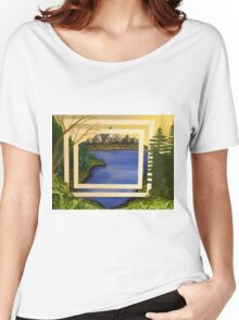 My Abstract Landscape Women's Relaxed Fit T-Shirt