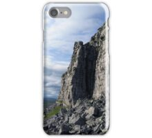 Limestone Stack Pen Y Ghent iPhone Case/Skin