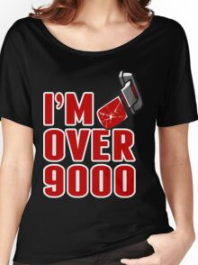 I'm over 9000 Women's Relaxed Fit T-Shirt