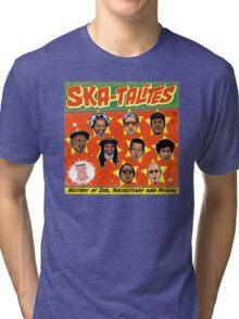 "THE SKATALITES "" HISTORY OF SKA , ROCKSTEADY & REGGAE "" Tri-blend T-Shirt"
