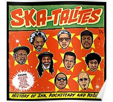 "THE SKATALITES "" HISTORY OF SKA , ROCKSTEADY & REGGAE "" Poster"