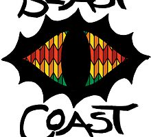 Beast Coast Rasta Eye by mob345