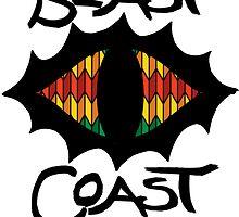 Beast Coast Rasta Eye by mob345