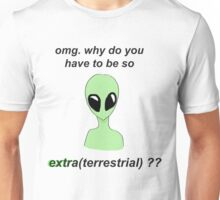 extra (terrestrial) Unisex T-Shirt