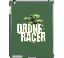 Drone Racer (Green) iPad Case/Skin
