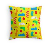 Toes in the desert Throw Pillow