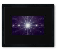 The Language of the Stars Framed Print