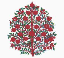 Shaki Khan Tree of Life Kids Tee