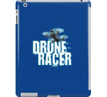 Drone Racer (Blue) iPad Case/Skin