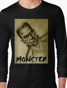 frankenstein monster Long Sleeve T-Shirt